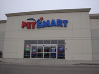 Store front for Petsmart