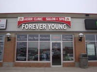 Store front for Forever Young Laser Clinic Salon & Spa