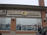 Store front for South Trail Chiropractic