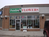 Store front for Panda Flowers