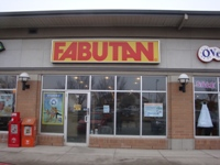 Store front for Fabutan
