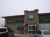 Store front for TD Bank