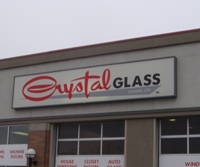 Store front for Crystal Glass