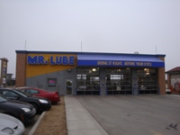 Store front for Mr. Lube