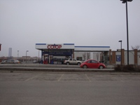 Store front for Calgary Co-Op Gas Bar