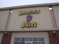 Store front for Booster Juice