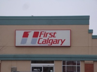 Store front for First Calgary