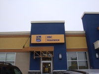 Store front for Royal Bank Canada Insurance