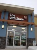 Store front for The UPS Store