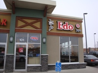 Store front for Edo Japan