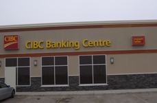 Store front for CIBC Bank
