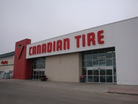 Store front for Canadian Tire