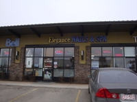 Store front for Elegance Nail and Spa
