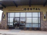 Store front for Progressive Dental