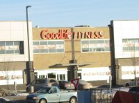 Store front for Goodlife Fitness