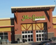 Store front for Mrs. Greens Natural Market