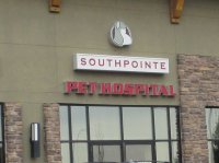 Store front for South Trail Pet Hospital