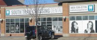 Store front for South Trail Crossing Dental Centre