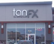 Store front for Tan FX