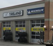 Store front for Tireland